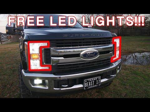 2017-2019 F250 LED HEADLIGHT BULB GIVEAWAY!!!