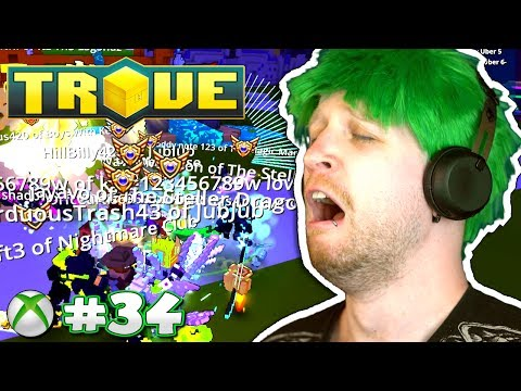 WHY I DON'T STREAM ON CONSOLE! ✪ Scythe Plays Trove Xbox One #34