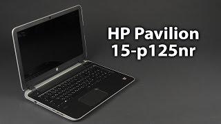 Розпакування HP Pavilion 15-p125nr
