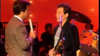 Dick Clark Interviews Van Stephenson- American Bandstand 1984