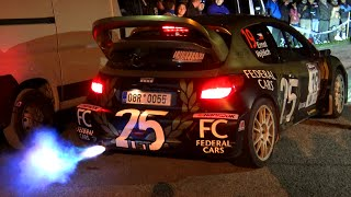 PURE GROUP B, GROUP A, WRC CAR SOUND LAUNCH CONTROL and FLAMES 13° Rally legend 2015
