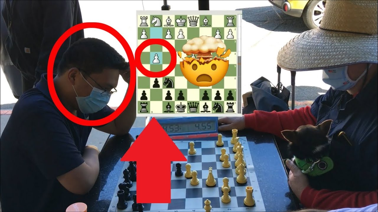 Master's Weird Pawn Sac On Move 4 Stuns Other Master! FM Mark The Duck vs NM Karl The Krusher