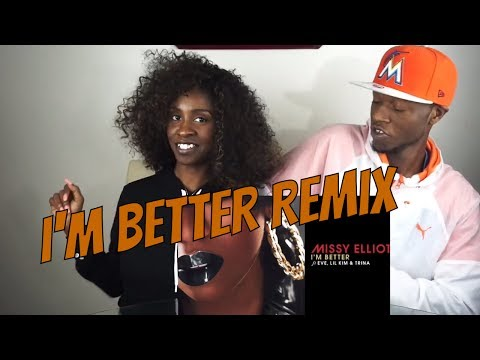 Missy Elliott - I'm Better Remix feat. Eve, Lil Kim & Trina  - REACTION