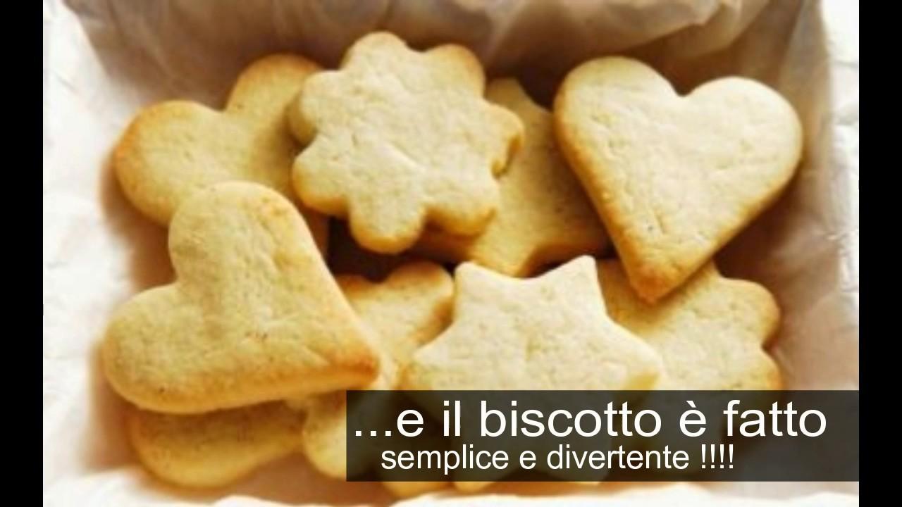 ricetta biscotti fatti in casa semplice e veloce frollini