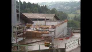 création d'un bâtiment pour vaches laitières