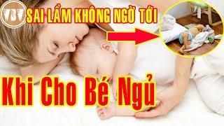 Cho Bé Nằm Sàn Hay Cho bé Ngủ Giường cho bé