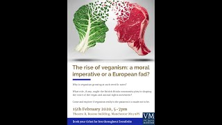 The rise of veganism: a moral imperative or a European fad?