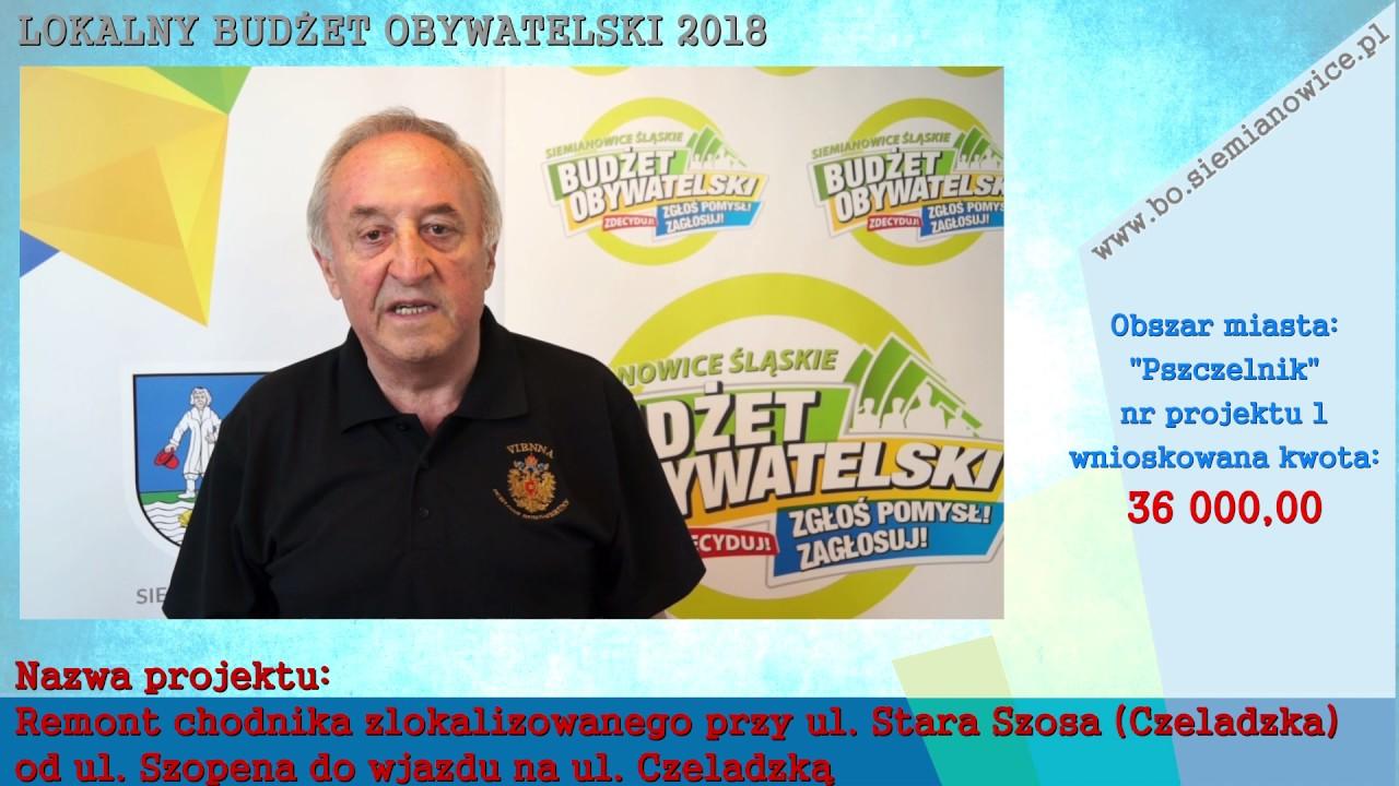 """LOKALNY BUDŻET OBYWATELSKI 2018 – """"Pszczelnik"""""""