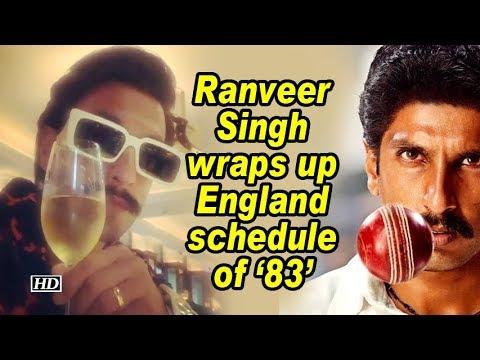 Ranveer Singh wraps up England schedule of '83' Mp3