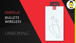 OnePlus Bullets Wireless unboxing