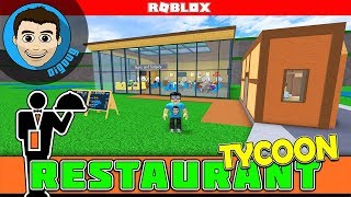 Roblox Restaurant Tycoon Huge Upgrade to our Restaurant In Roblox!