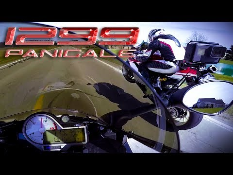 Ducati 1299 Panigale Superbike BMW S1000RR Top Speed No Limit Drag Race MaxWrist KnoxNuke