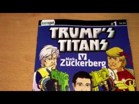 Image result for zuckerberg trump  cartoon
