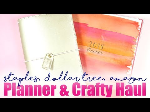 HAUL // March Planner and Crafty Finds!