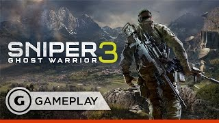 Satellite Infiltration in Sniper Ghost Warrior 3 - Gameplay