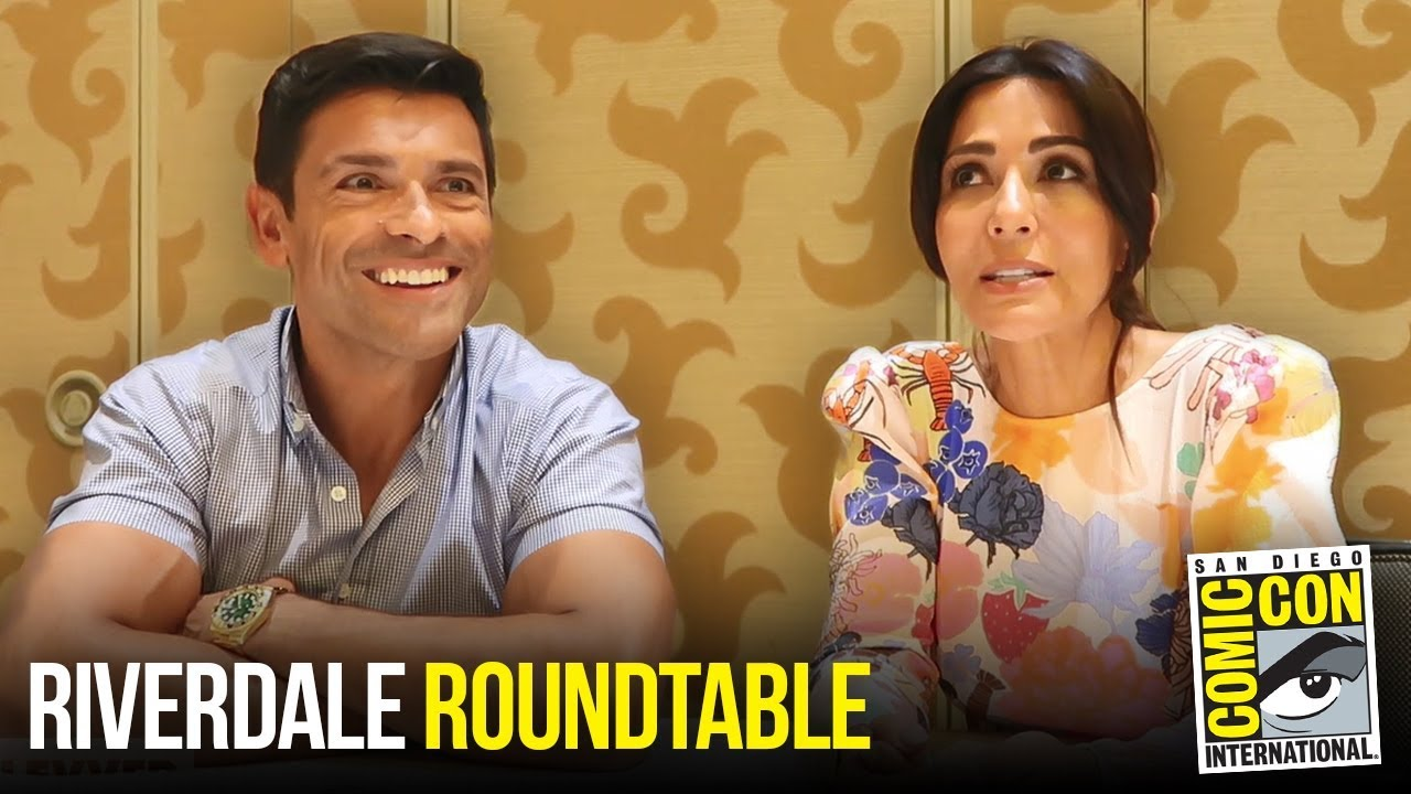 Marisol Nichols & Mark Consuelos Riverdale Roundtable Interview at Comic Con 2018