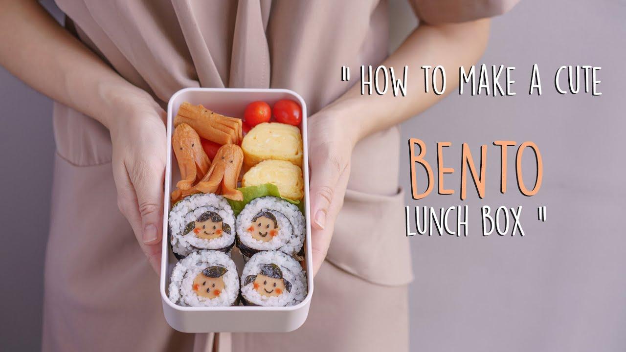 ข้าวกล่องน่ารักๆทำง่ายๆ | How to make a cute bento lunch box | Patcha Kitchen