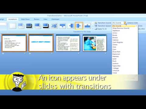 How to Add Transitions to a PowerPoint Presentation For Dummies