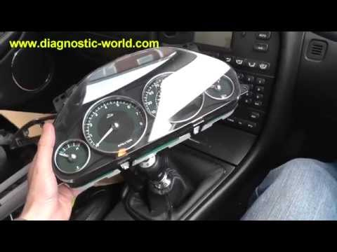 Jaguar X Type Speedo Clocks Instrument Cluster Removal Guide