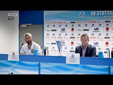 35. Spieltag | Kickers - SGD | Pressekonferenz nach dem Spiel