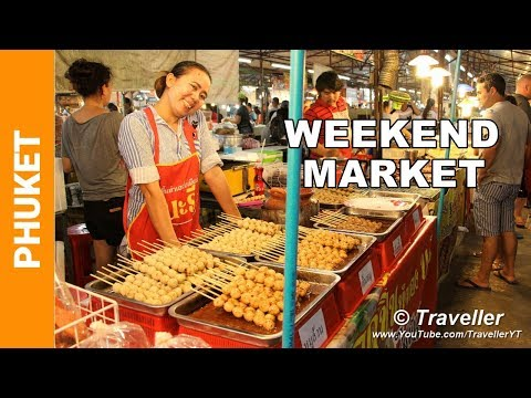 Phuket Weekend Market – Just the food!  – Phuket holiday attractions – Thai Street food at its best