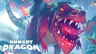 NEW LEGENDARY T-REX DRAGON UNLOCKED!!! (HUNGRY DRAGON)