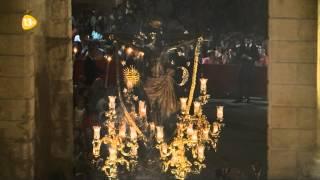 Cristo del Remedio de Ánimas bajo el Arco del Triunfo - Magna Córdoba 2013
