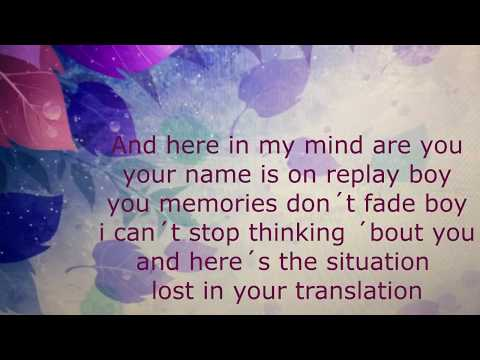 Malu Trevejo - En Mi Mente ( Lyrics ) ( English )