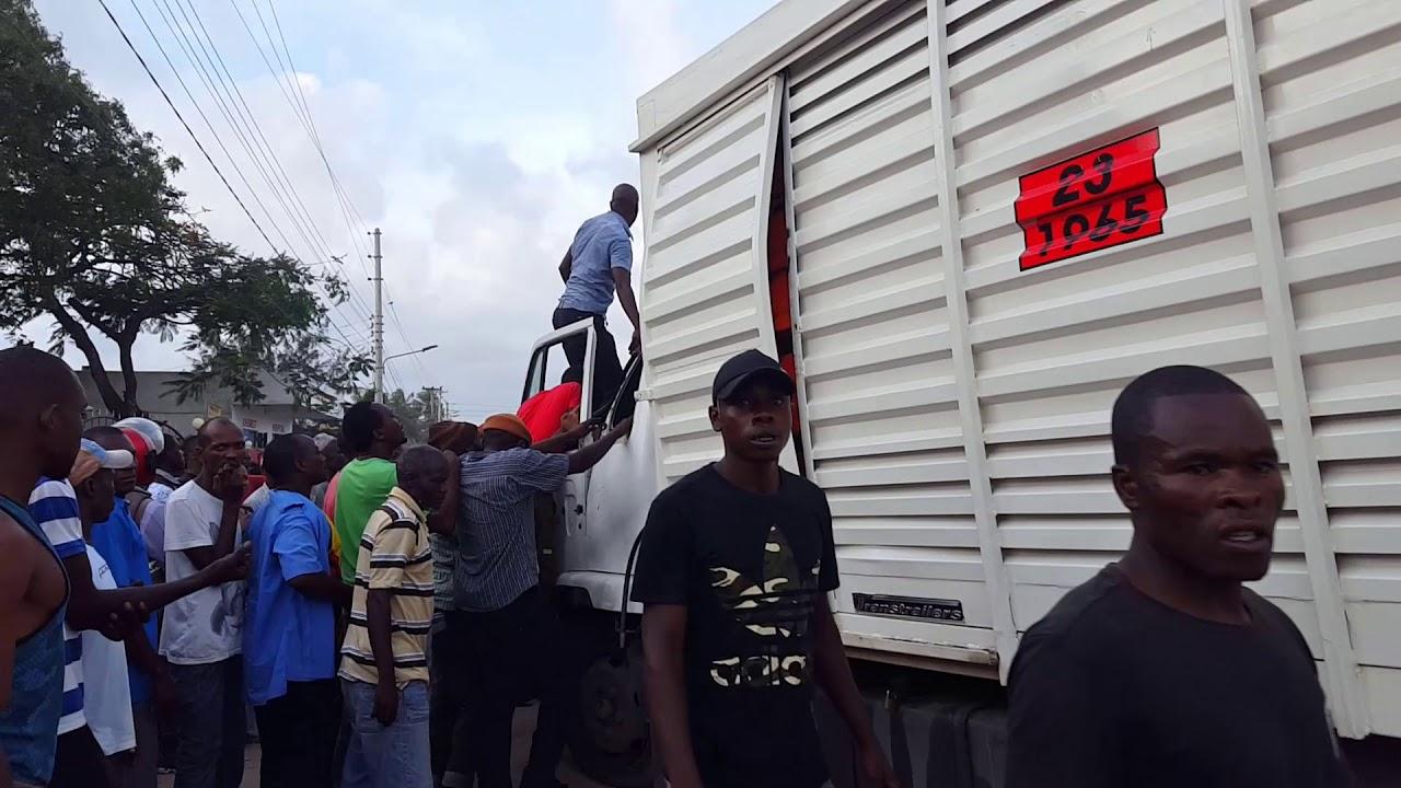 Breaking News Kenya LIVE IN Mombasa Malindi Road Accident