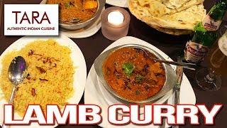 TARA ❤️ Lamb Curry on Palao Rice, Garlic Naan and Beef & Veggie Samosa