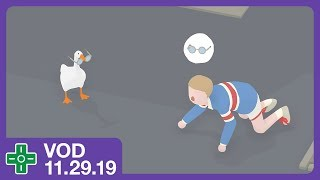 Untitled Goose Game (Full Playthrough) | VOD 11.29.19 Video
