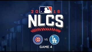 NLCS Game 4 Chicago Cubs vs LA Dodgers- Highlights