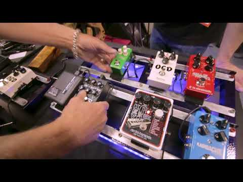 "MAD HATTER Debuts the ""Earth Board"" Magnetically Powered Pedalboard At NAMM 2018 