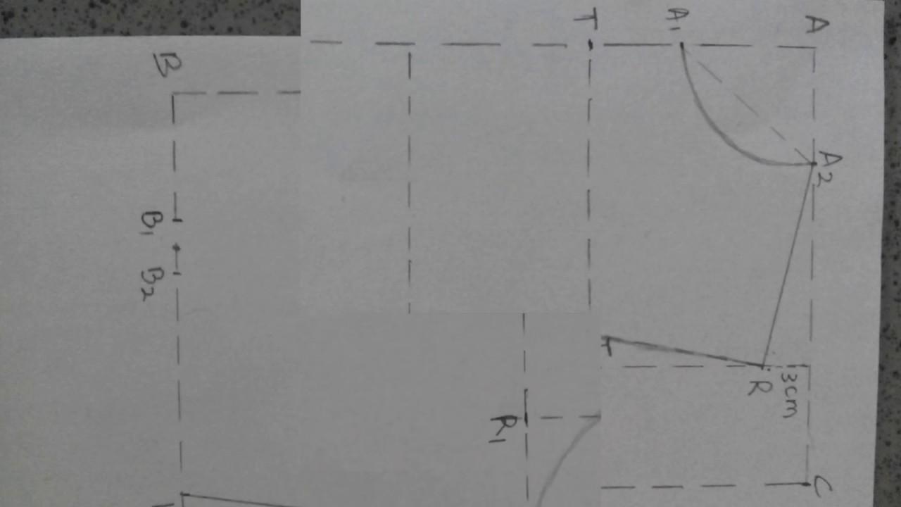 Cara Membuat Pola Gamis Syari Dan Modern Step By Step Untuk Pemula