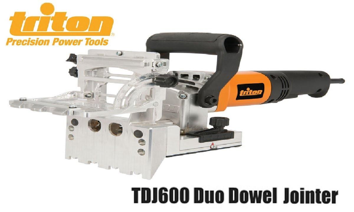 Triton Dowel Jointer - YouTube