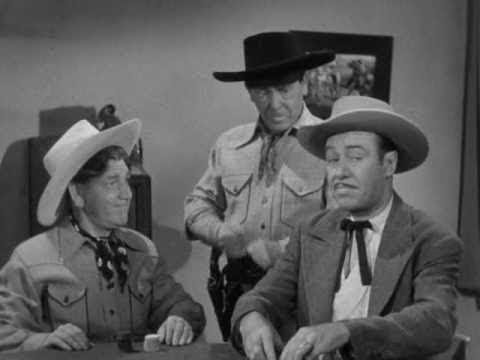 The Three Stooges 099 Out West 1947 Shemp, Larry, Moe
