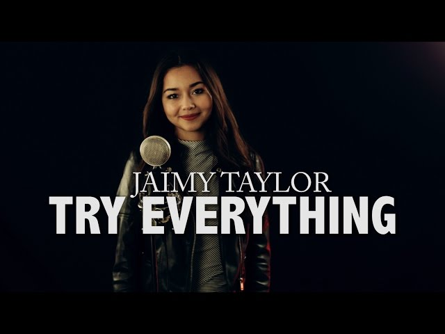 Shakira - Try Everything (Disney movie soundtrack) - cover by Jaimy Taylor