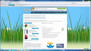 Mozilla FireFox FoxTab German Windows 7 64-Bit.