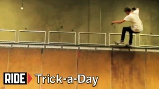 How To Skateboarding: Frontside 5 0 Grind with David Loy