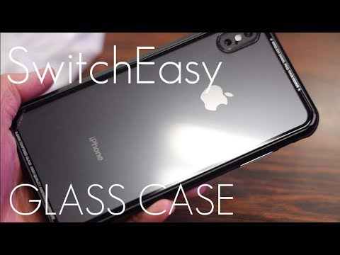 los angeles ed4bb 21da5 A GLASS iPhone Case? - Switch Easy iGLASS - iPhone XS / MAX - Hands On  Review