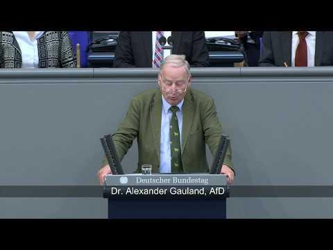 Generalaussprache zur Regierungspolitik - Dr. Alexander Gauland (AfD)