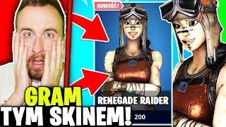 I RENEGADE RAIDER * OR SKIN ADDS SKILL! * IN FORTNITE