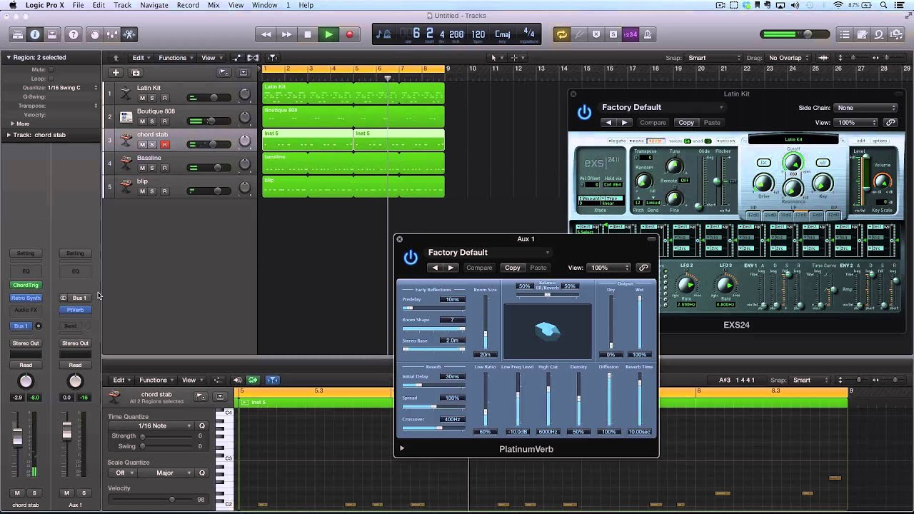 Logic Pro X Producerpov Deep Organic House Youtube
