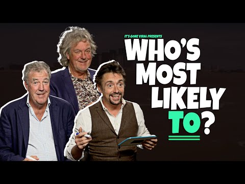 Who's Most Likely with The Grand Tour's Jeremy Clarkson, Richard Hammond and James May