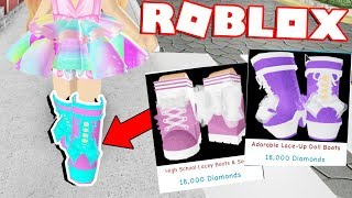 BUYING THE NEW WINTER BOOTS! | ROYALE HIGH NEW UPDATE (Roblox)