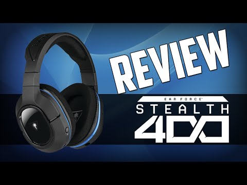 Turtle Beach Stealth 400 Gaming Headset Review And Mic Test
