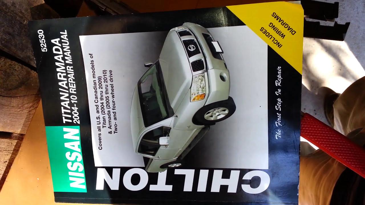 2004 thru 2014 Repair Manual and Armada 2005 thru 2014 52530 Nissan Titan
