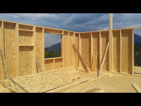Cum Construim O Casa Economica Ecologica Pe Structura Din Lemn Youtube