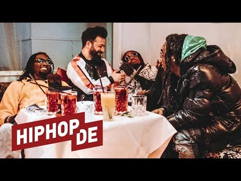 "Migos: ""Culture II"", Atlanta, Versace, ""Bad and Boujee"" & Gamechanger (Interview) #waslos"