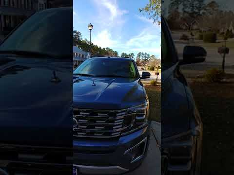 Our 2018 ford expedition limited max fully loaded .